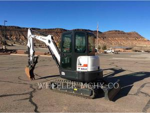 Bobcat E35M, Construction