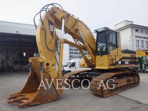 Caterpillar 345BIIL, Construction