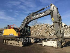 Volvo EC380EL, Construction
