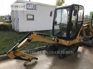 Caterpillar 301.4C, Construction