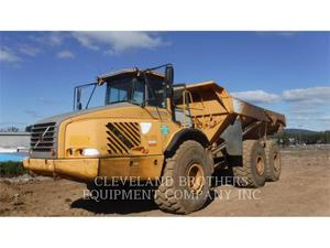 Volvo A40D, Construction