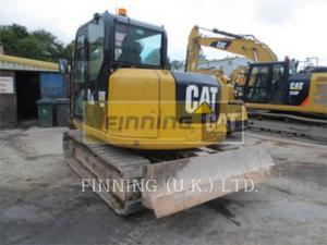 Caterpillar 308E2CRSB, Construction