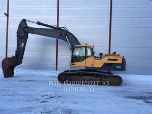 Volvo EC300D, Construction