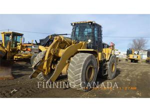 Caterpillar 966G, Construction