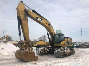 Caterpillar 345DLVG, Construction