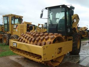 Caterpillar CP54B, Construction