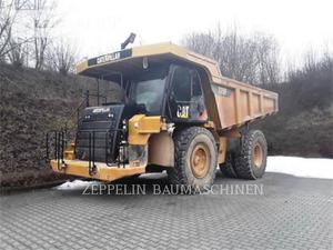 Caterpillar 775F, Construction
