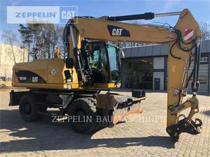 Caterpillar M318D, Construction