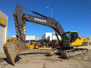 Volvo EC300DL, Construction