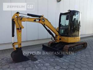 Caterpillar 303.5ECR, Construction