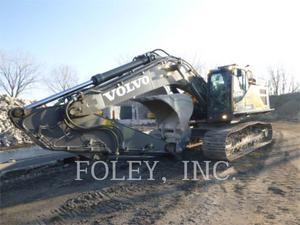 Volvo EC350 EL, Construction
