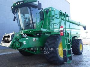 John Deere S670, Agriculture