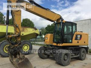 Caterpillar M320F, Construction