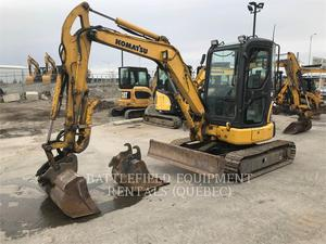 Komatsu PC 35 MR-3, Construction
