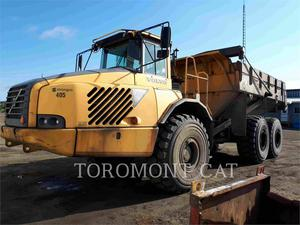 Volvo A35D, Construction