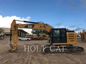 Caterpillar 320EL RRTC, Construction
