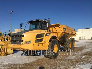 Volvo A40F, Transport