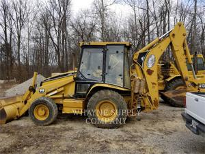 Caterpillar 416C, Construction