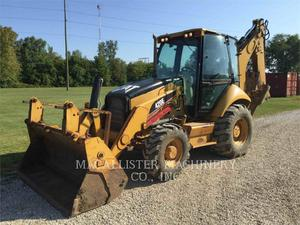 Caterpillar 420EST, Construction