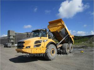 Volvo A40F, Construction