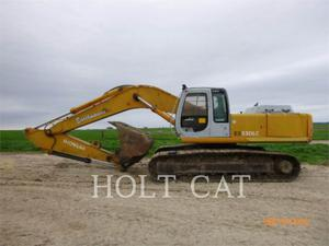 Hitachi EX330LC, Construction