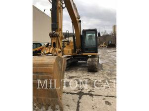 Caterpillar 313F GC, Construction
