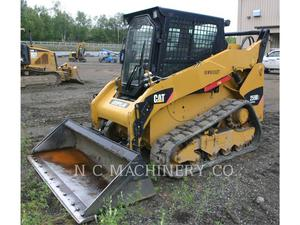 Caterpillar 259B3 CB, Construction