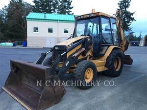 Caterpillar 416C 4ETCA, Construction