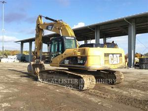 Caterpillar 324DL, Construction