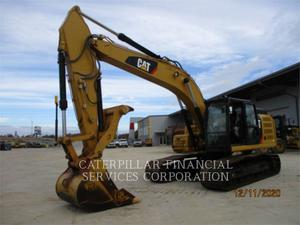 Caterpillar 326FL, Construction