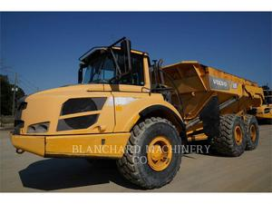 Volvo A30F, Construction