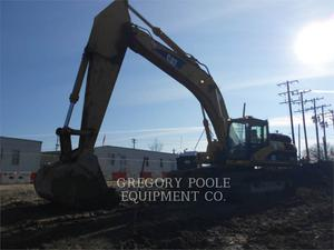 Caterpillar 330D L, Construction