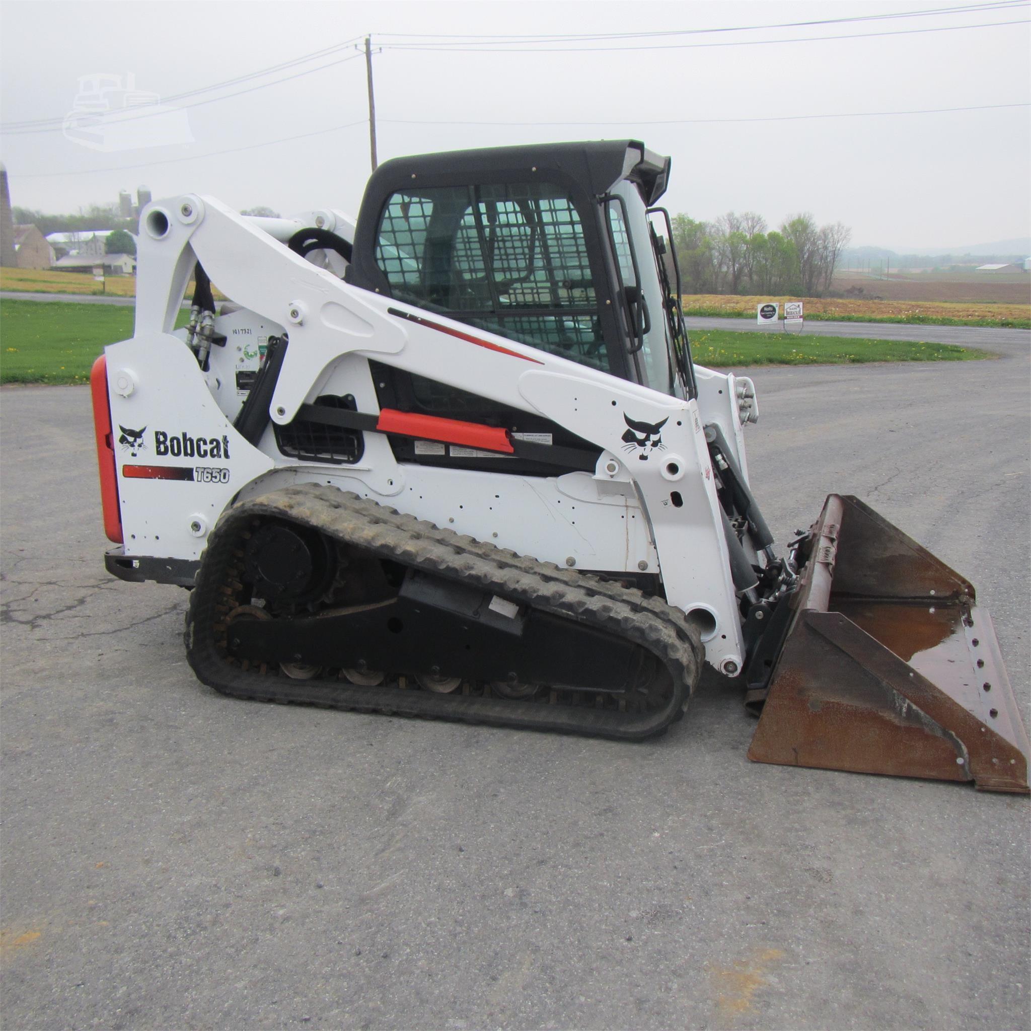 2015 BOBCAT T650 Sale In Pennsylvania #963812