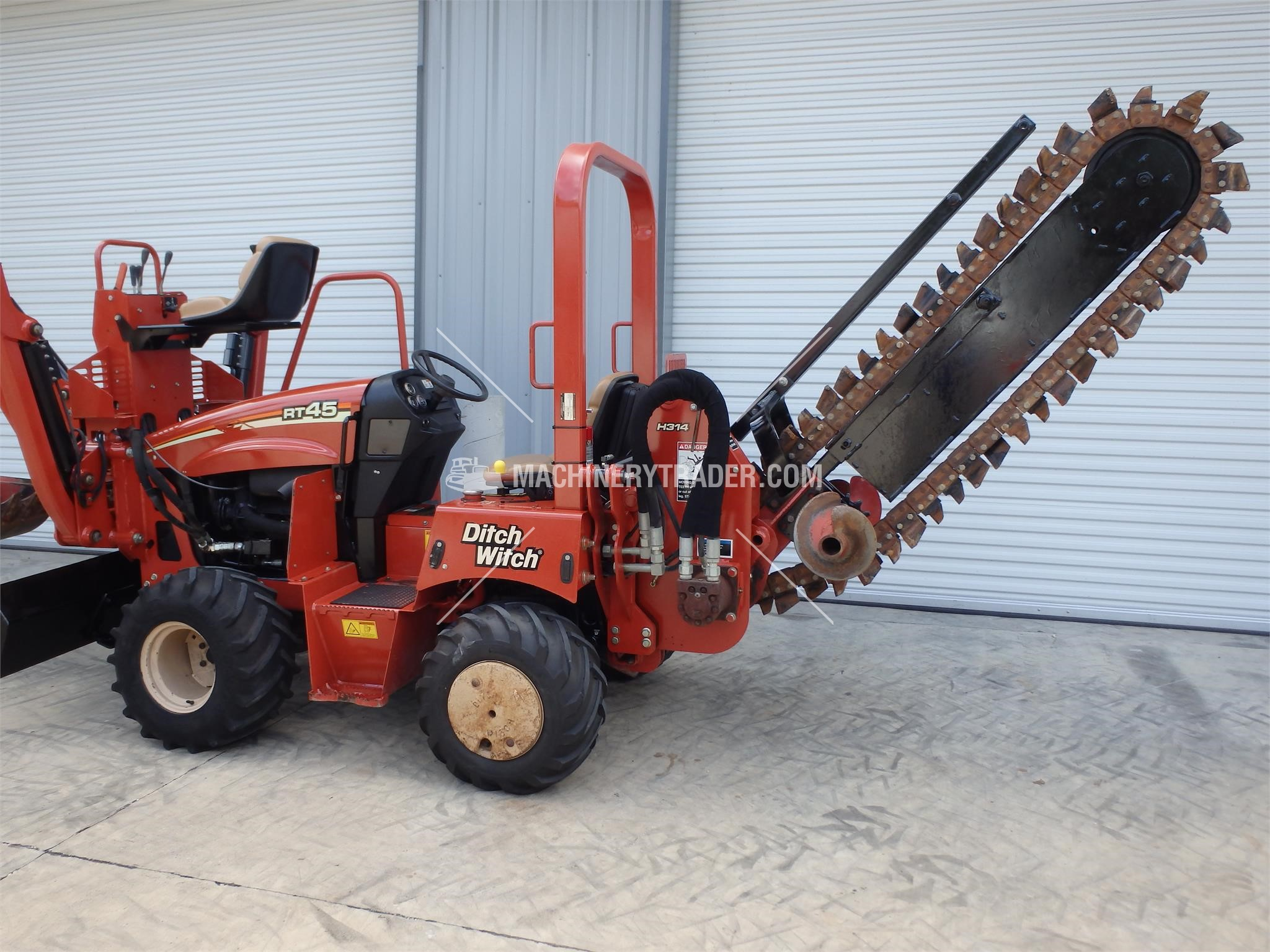 2010 ditch witch rt45 sale in louisiana 56126. Black Bedroom Furniture Sets. Home Design Ideas