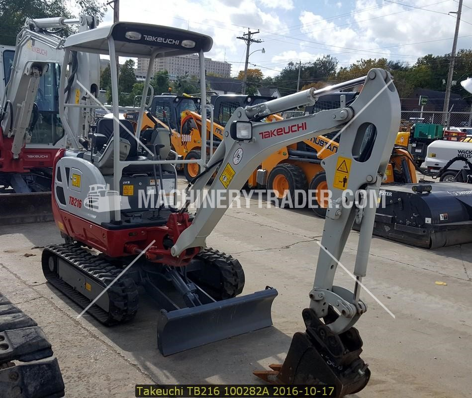 2014 TAKEUCHI TB216 Sale In Iowa #6746