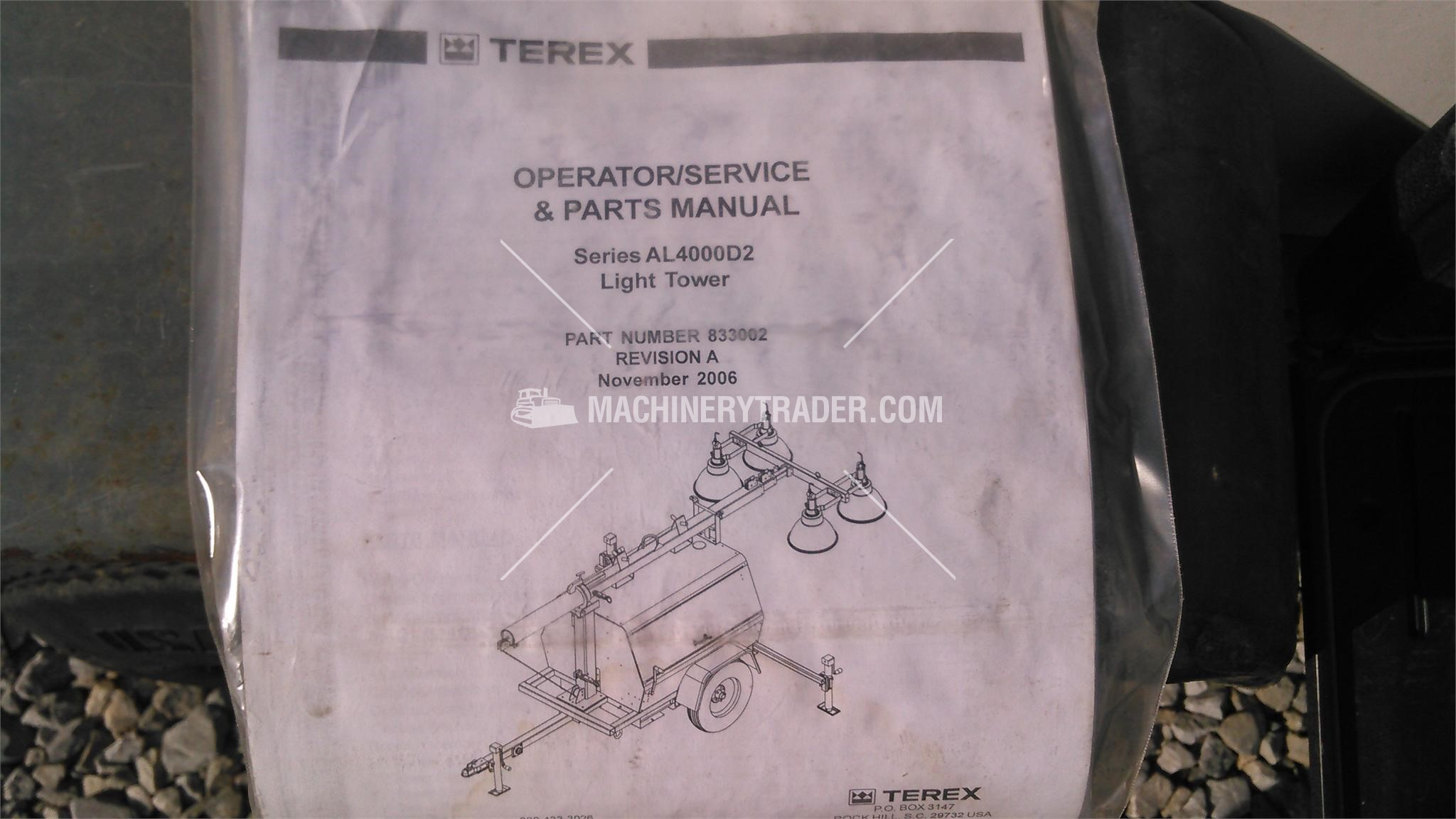 2008 Terex Rl4000 Sale In Tennessee 242717
